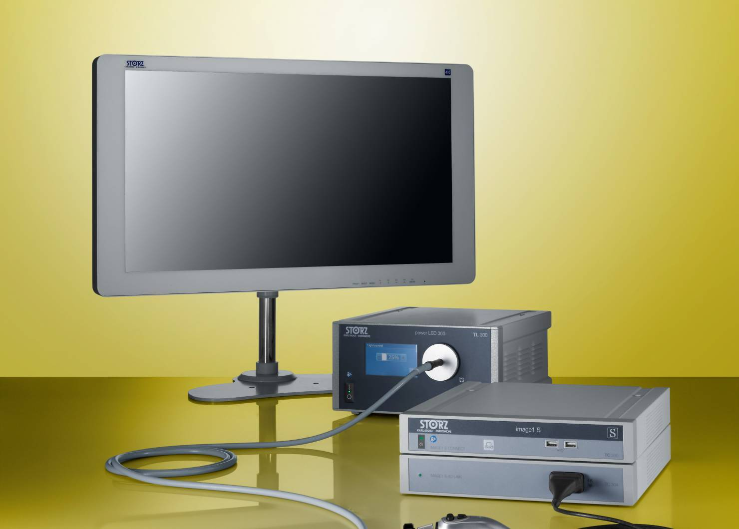 Endoscopische videoapparatuur