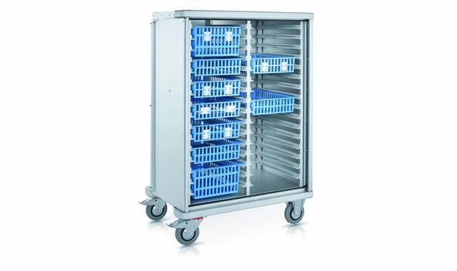 Zarges - modulaire kastwagen