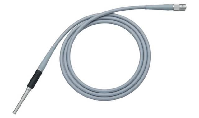 Fiberglaslichtkabel, Ø 3,5 mm., lengte 180 cm.