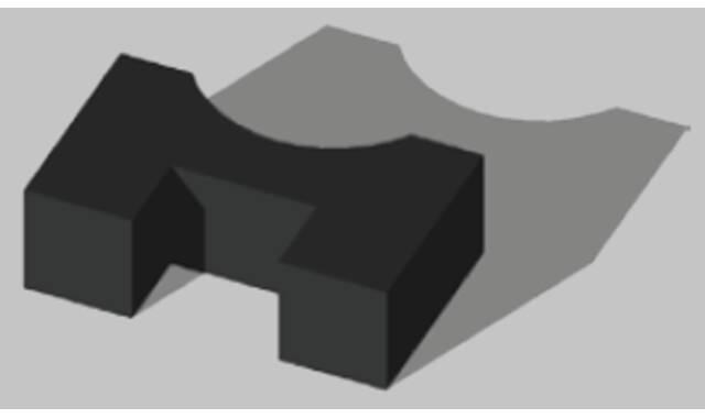 Eswell -  Thorax kussen 300x500x160mm - Zwart