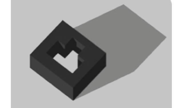 Eswell -head pad prone pos,150 zwart